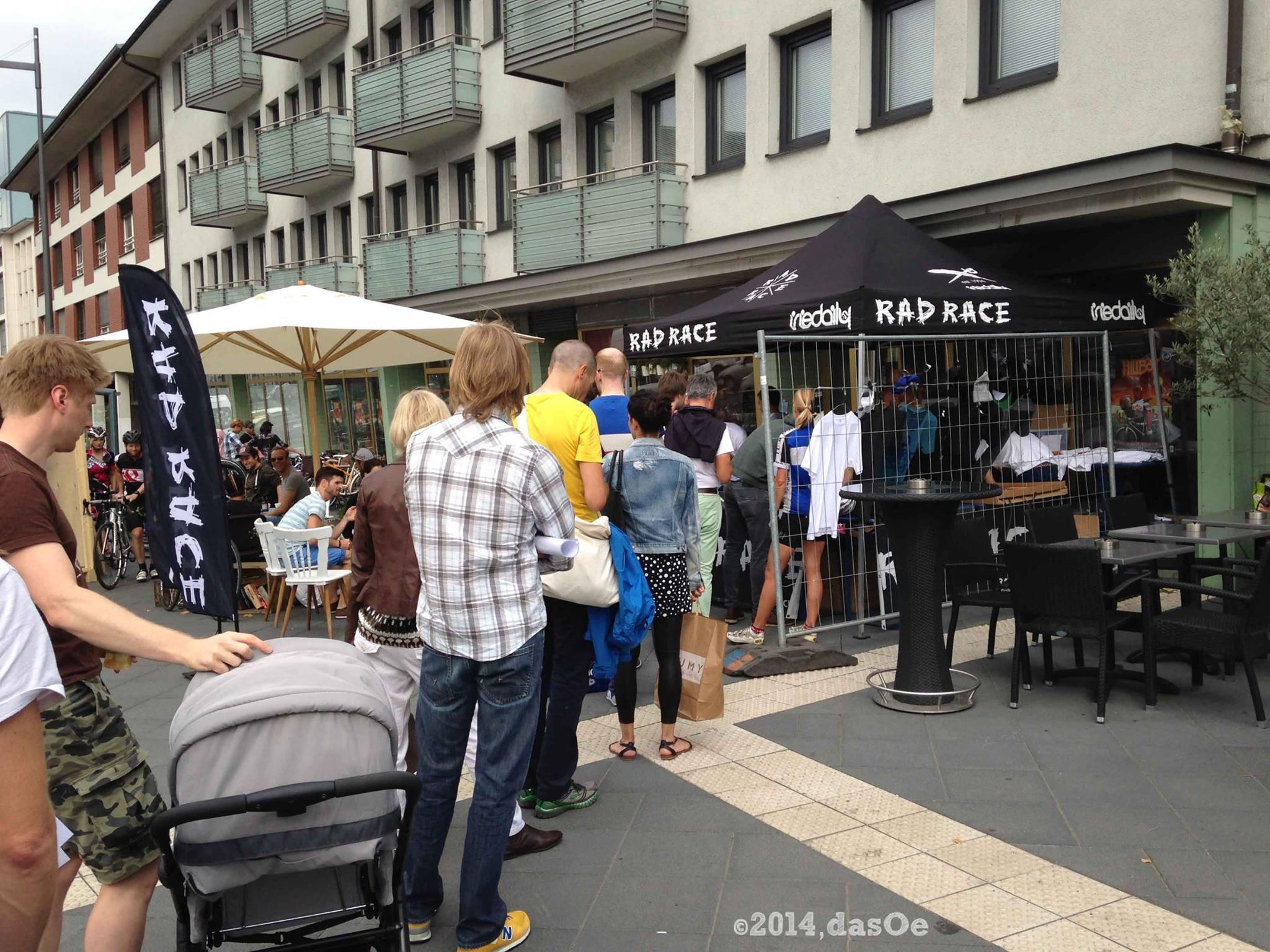 RadRace 2014 Registrierung